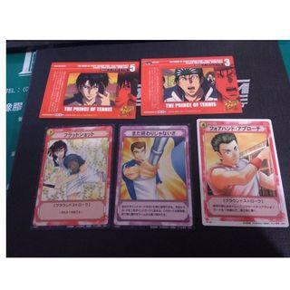 網球王子 每張10 日本 日版 正版 收藏卡 珍藏卡 卡 卡片 卡牌
