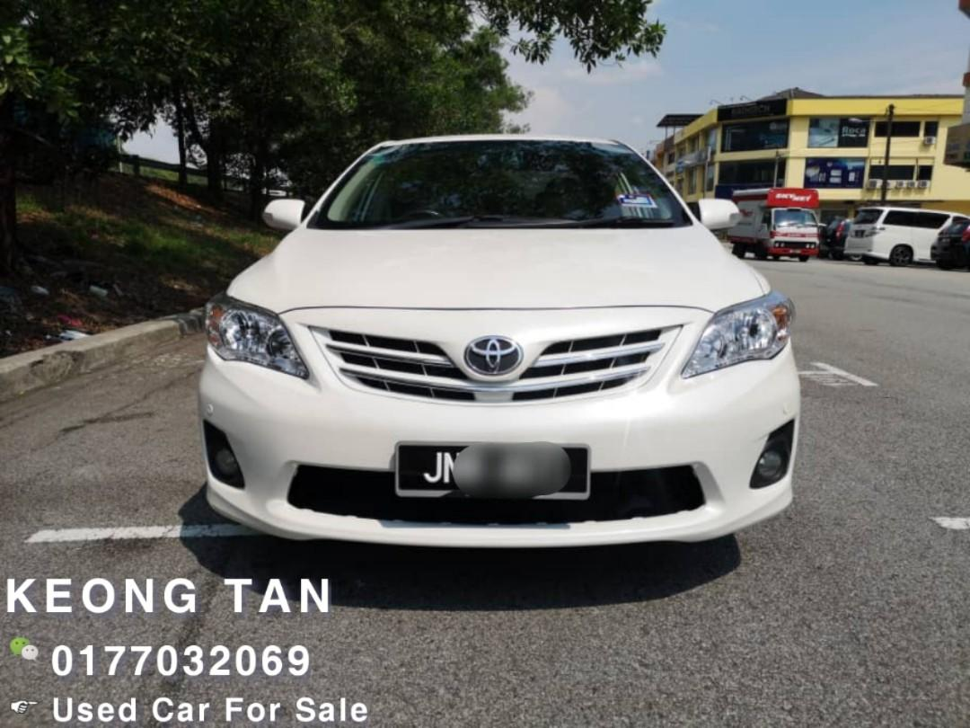 2012TH🚘TOYOTA ALTIS 1.8AT E SPEC JBPlate MILEAGE 10XXXXKM Carking Cash💰OfferPrice💲Rm43,200 Only‼LowestPrice InJB‼FastCall📲KeongForMore🤗