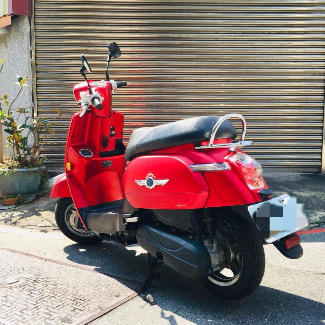2017年光陽Many魅力125CC雙碟噴射版(紅)
