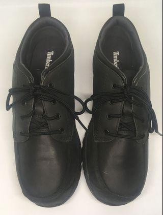 Timberland Boys Black Shoes US 5.0 Discovery Pass Oxford Plain-Toe (School, Concert, etc.)