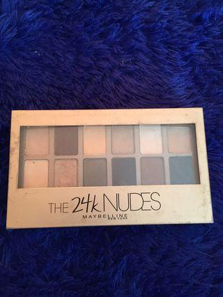 Maybelline The 24k Nudes