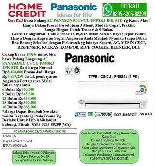 AC PANASONIC CS/CU-PN9SKJ 1PK Cicilan tanpa kartu kredit