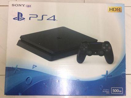 PlayStation 4 slim black 500GB