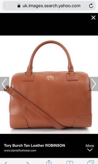 Tory Burch Robinson Safiano Leather