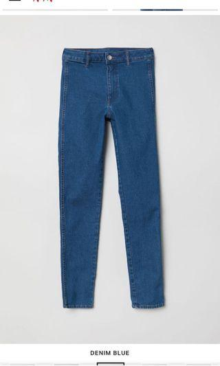 Hnm skinny high angkle jeans
