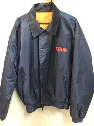 古著外套 KIRIN刺繡(照片些許色偏,最後一張顏色較正確)