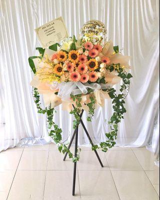 Opening stand - warm bouquet