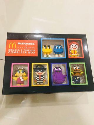 McDonald's Nanoblock Ronald & Friends Lego