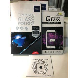 IPhone6/6s/7/8全屏鋼化弧邊玻璃貼 9H買就送送送