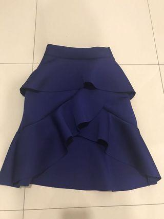Blue Skirt Mermaid Design