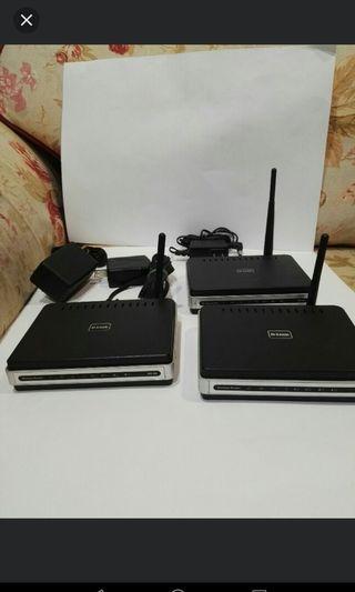 D-link DIR300 wireless router(已售出一個)無線網路分享器