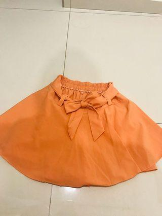 Orange 🍊 Skirt Short