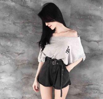 花苞顯瘦短褲