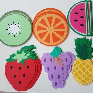 Handmade fruits