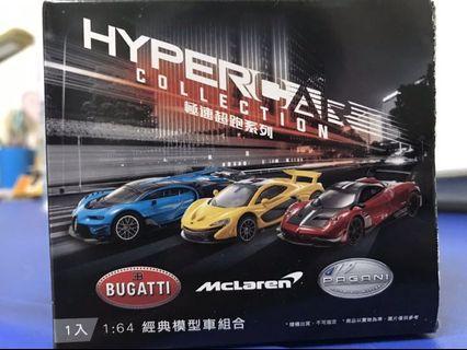 Hypercar collection 極速超跑系列 一組12台