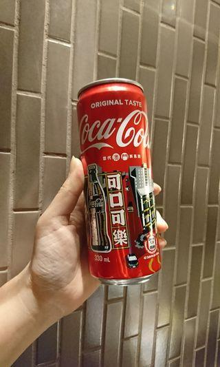 澳門紀念瓶 可口可樂 當代澳門新馬路