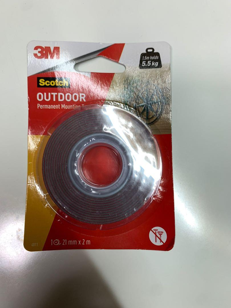 3M scotch outdoor mounting tape