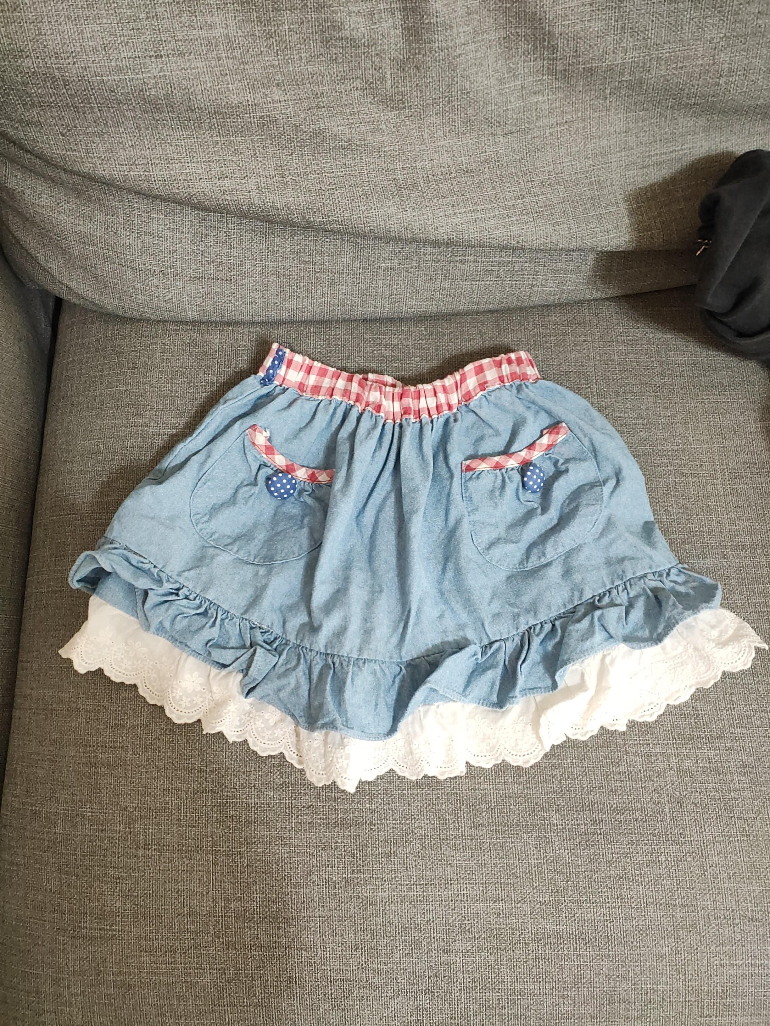 女童短裙(7)