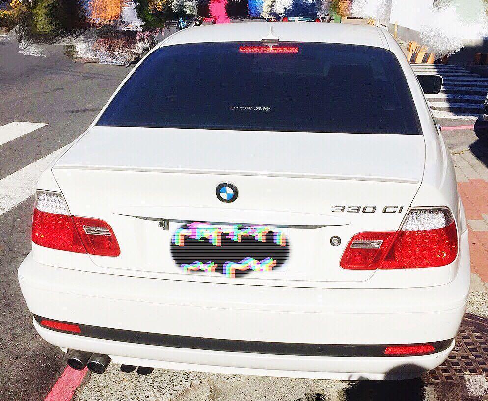 尾批 05年 BMW E46 330ci 自售車款 車況保證!