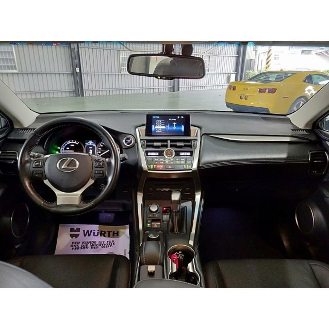 售 2016年 LEXUS NX300h 可全額貸款 零頭款交車