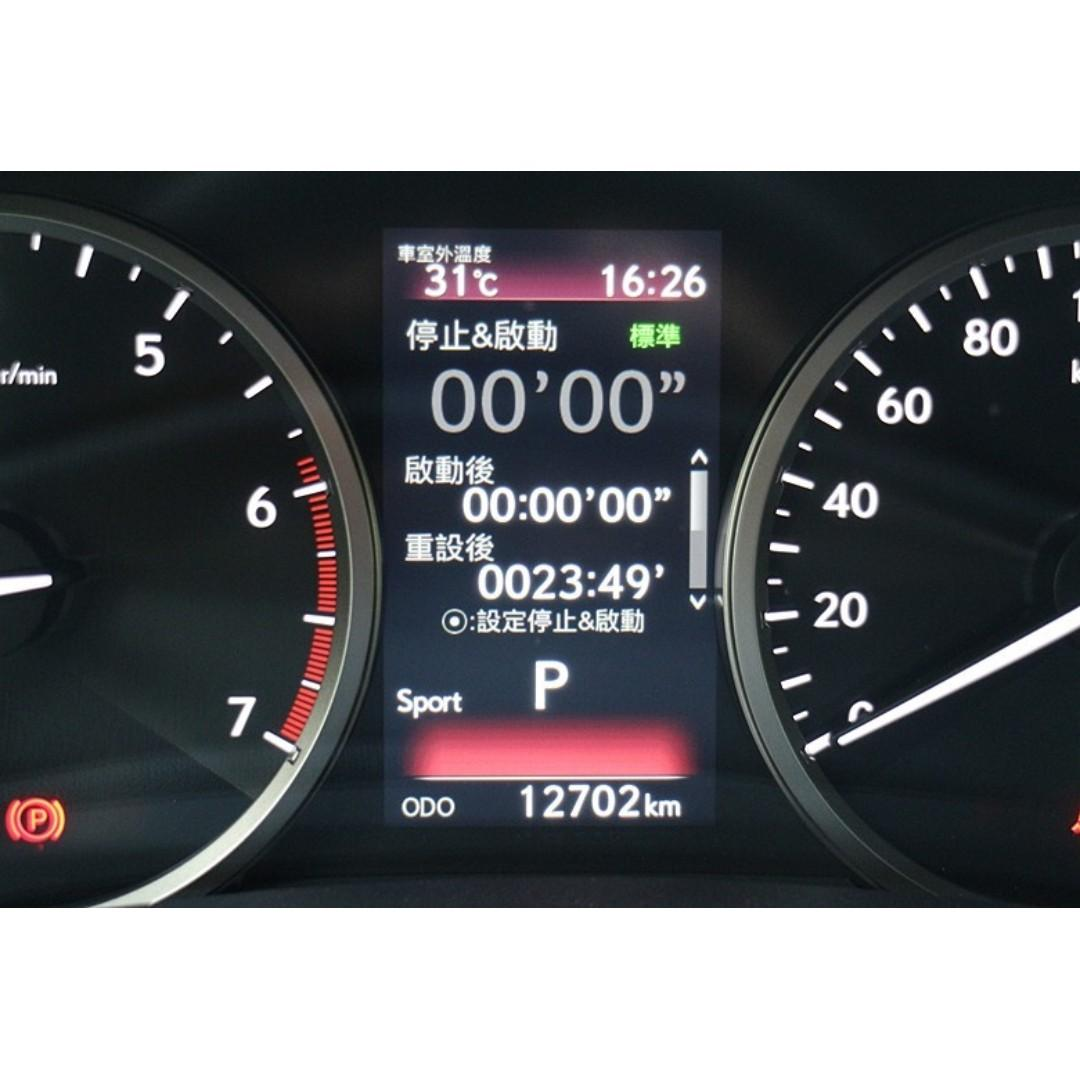 售 2018年式 LEXUS NX300 僅跑1萬多公里 新車保固 可全額貸款