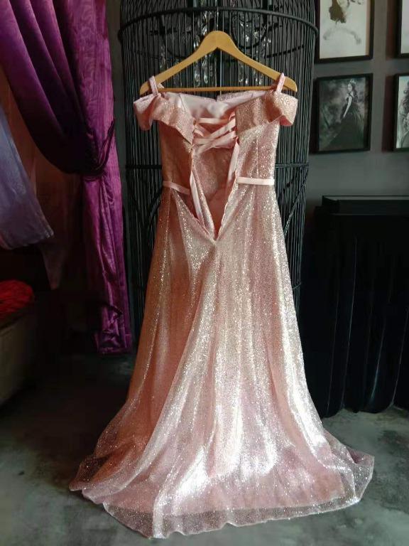 🆕 Dinner Banquet Dress (Pink Colour)