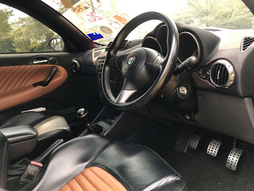 Alfa Romeo GTA 3.2 V6 manual ( 6speed )