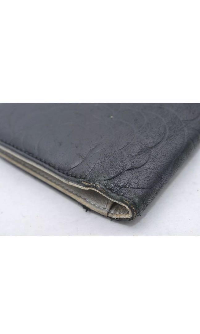 Authentic Chanel CC Camellia long wallet