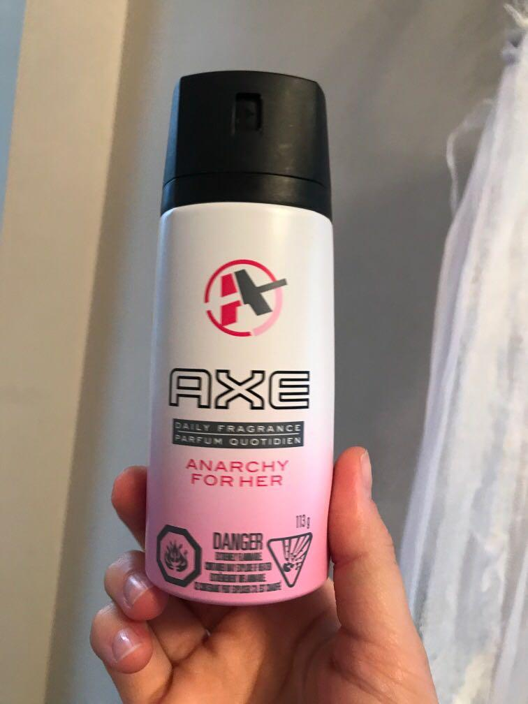 AXE  daily fragrance parfum anarchy for her deo perfume