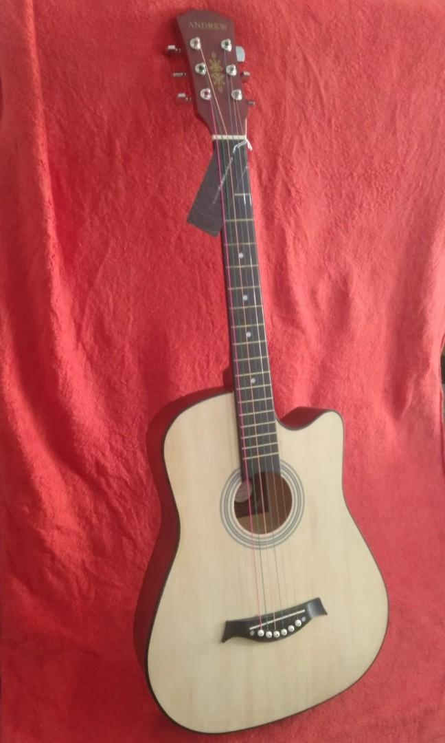 Brand New Acoustic Guitar Andrew 38""
