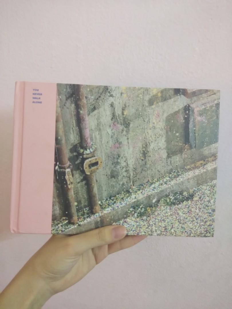 BTS ynwa album pink version