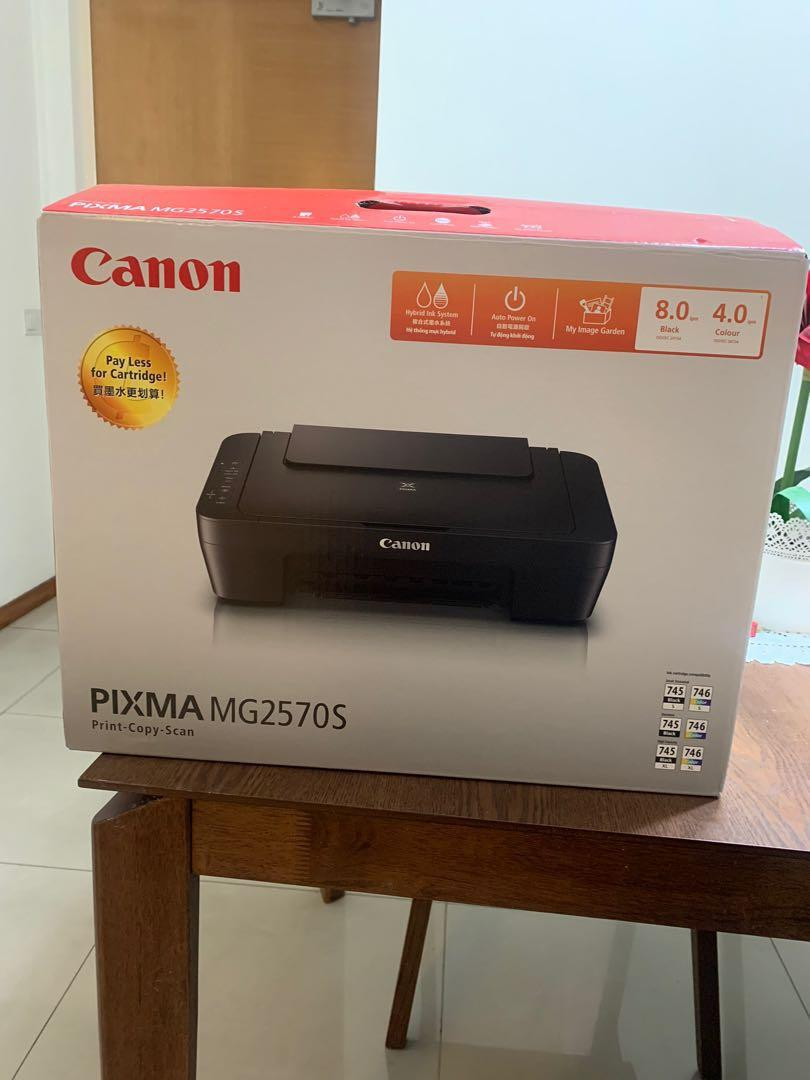 Canon Printer with free Ink Cartridges!