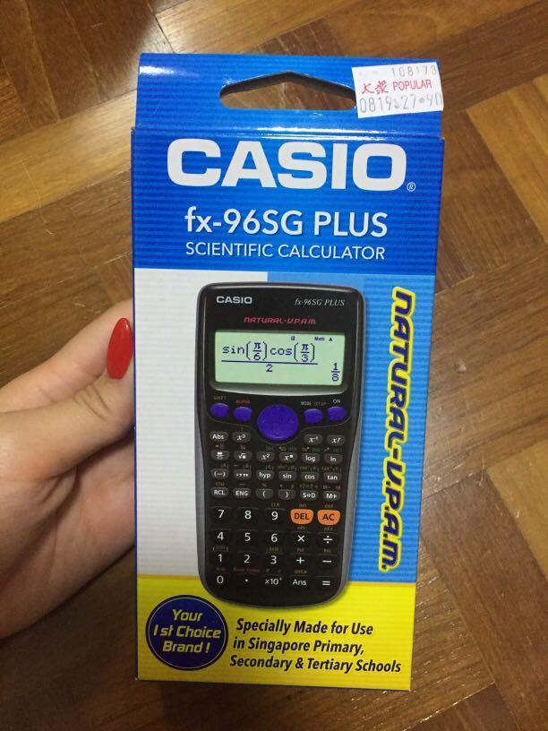 Casio Scientific Calculator  fx-96SG