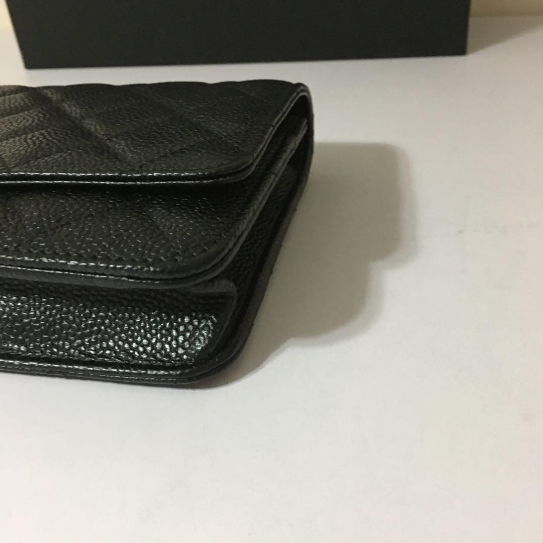 Chanel chain wallet WOC