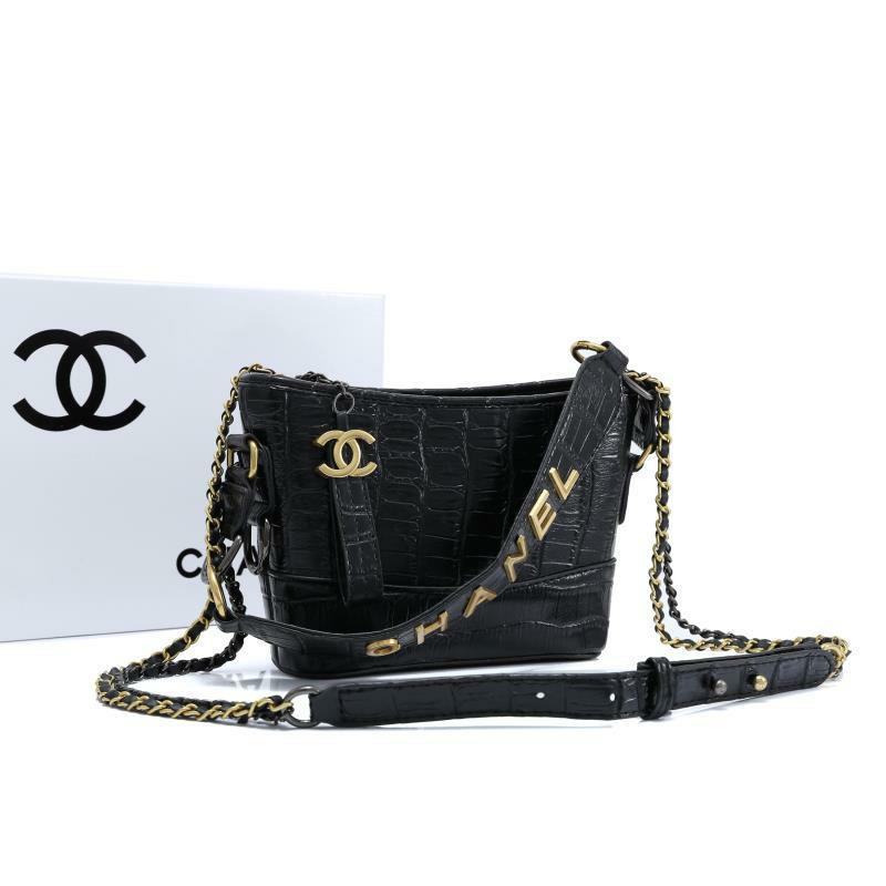Chanel Gabriel hobo croc.