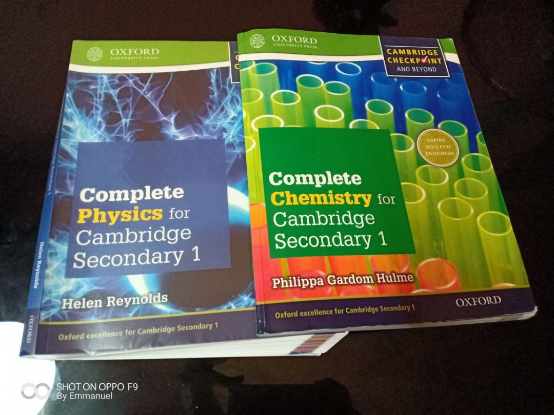 Chemistry and physics textbook Cambridge