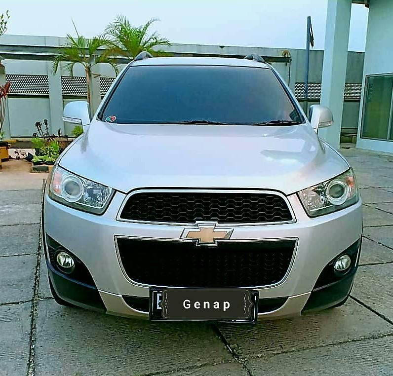 Chevrolet Captiva FL 2.0 AT diesel 2013 angs 1.9 jt