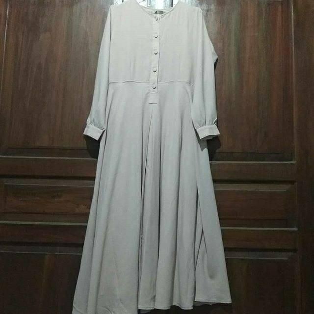 Dress Gamis Shararea Preloved Fesyen Wanita Pakaian Wanita Gaun Rok Di Carousell