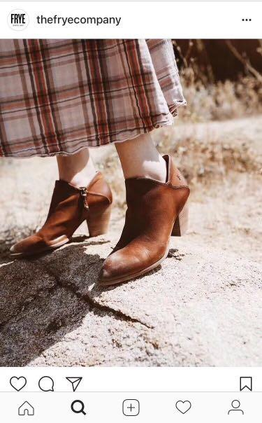 FRYE SHORT BOOTS Reed Shootie