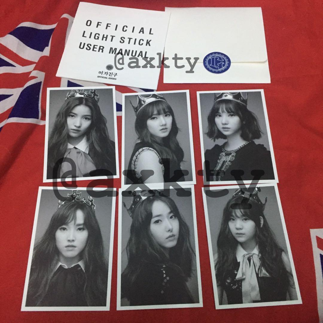 GFRIEND OFFICIAL LIGHTSTICK with PHOTOCARDS SET (VERSION 1)