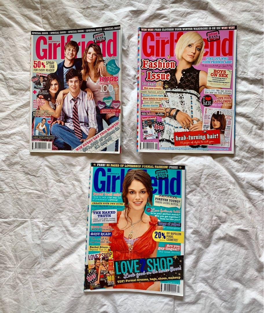 Girlfriend Magazine 2003 - 2010 (each)
