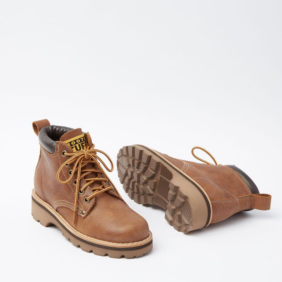 *Great Condition* Roots lace-up Tuff ankle boots in natural tribe leather Women Size 7.5