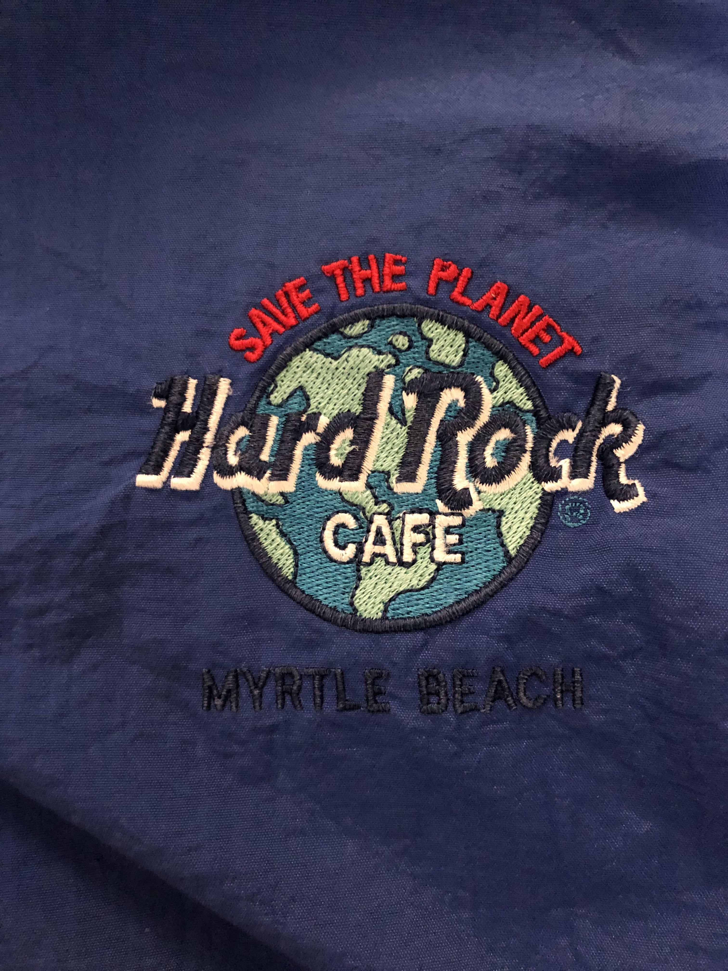 美製Hard Rock古著薄外套
