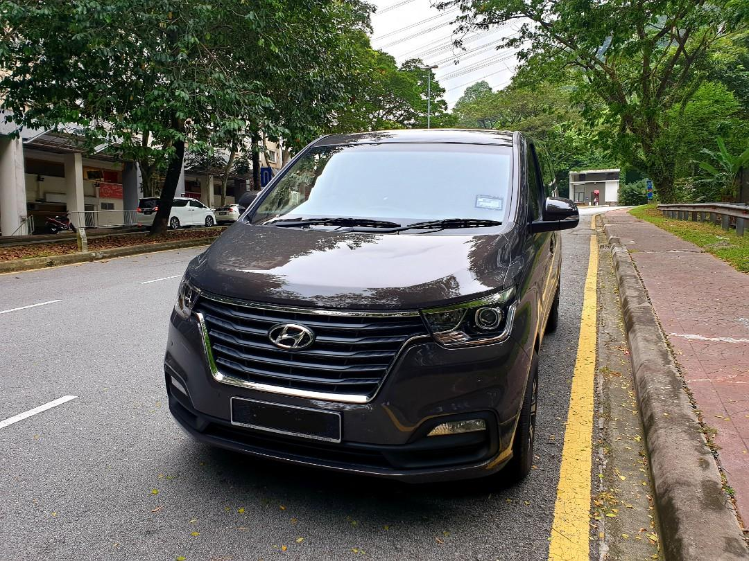 Car Rental - Hyundai Grand Starex 2019