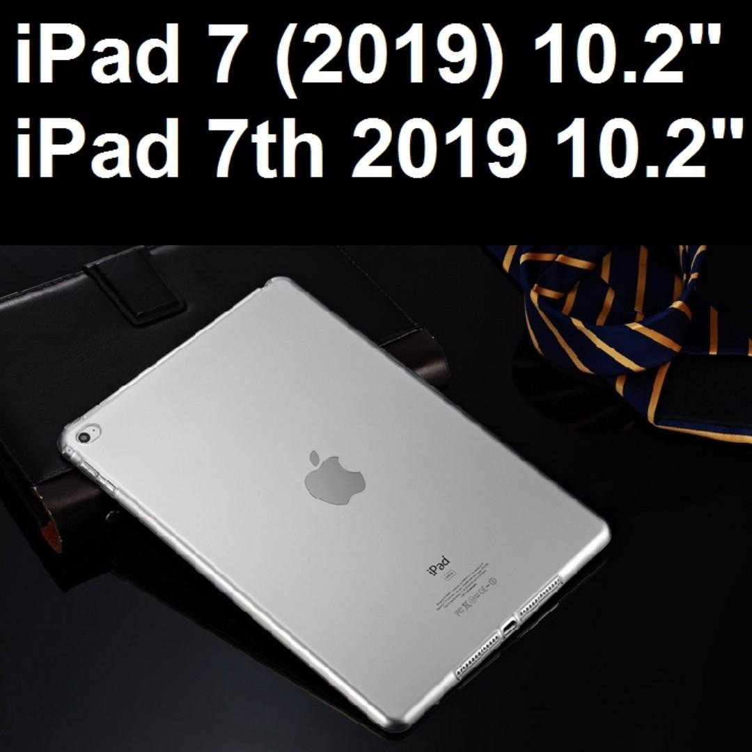 iPad 7 (2019) 10.2 7th 2019 Transparent Clear Jelly Case