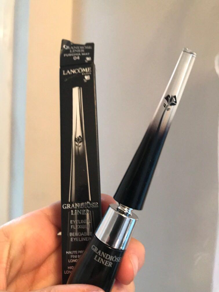 Metallic Lancome grandiose liner eyeliner flexible longwear intense Metallic