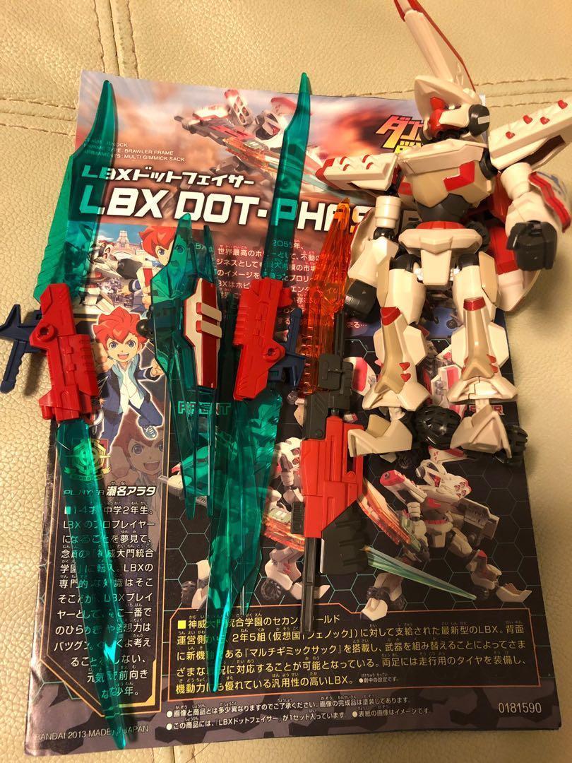 LBX Dot-Phasor 正版 高達模型