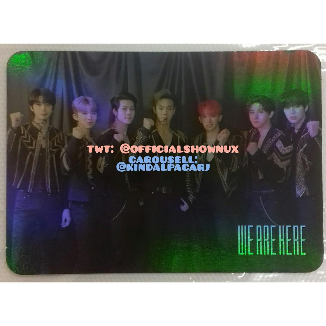 [LOOSE ITEMS & READY STOCK] 2019 MONSTA X WORLD TOUR WE ARE HERE IN SEOUL DVD