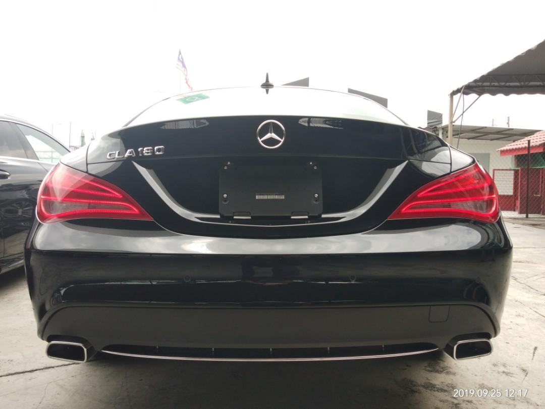 MERCEDES A180SE 1.6TURBO RECON ON THE ROAD PRICE RM139,888.88