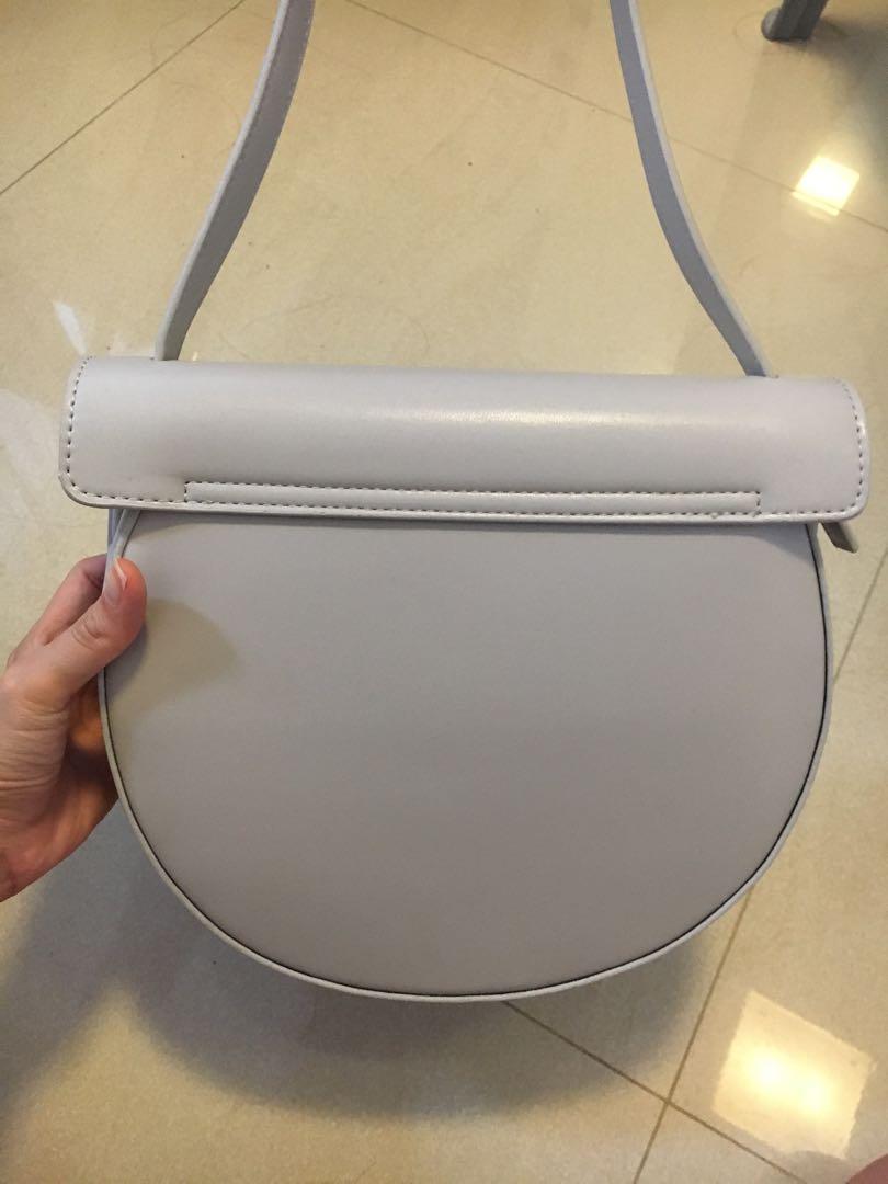 Minimalistic white bag